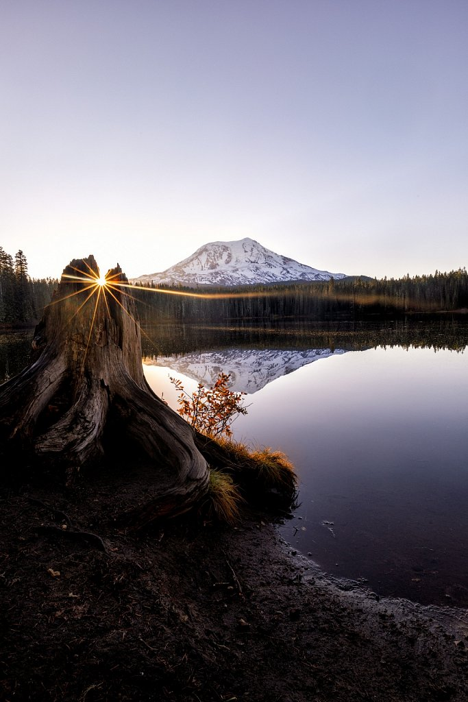 Mt Adams Sunrise